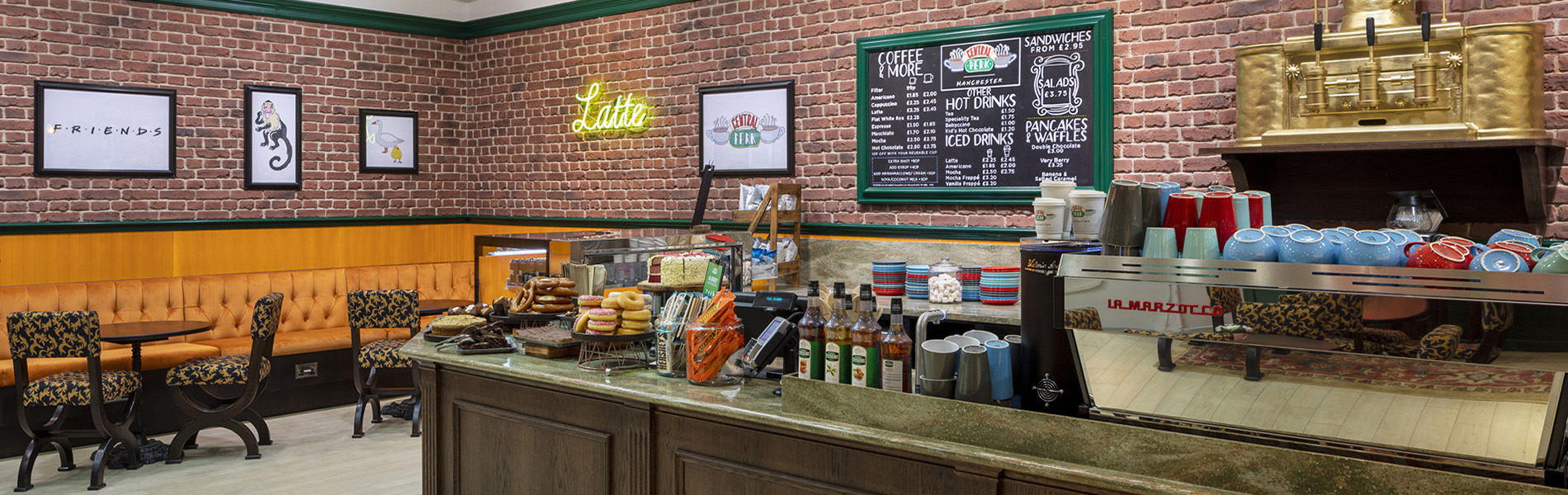 THE UK'S FIRST CENTRAL PERK CAFÉ
